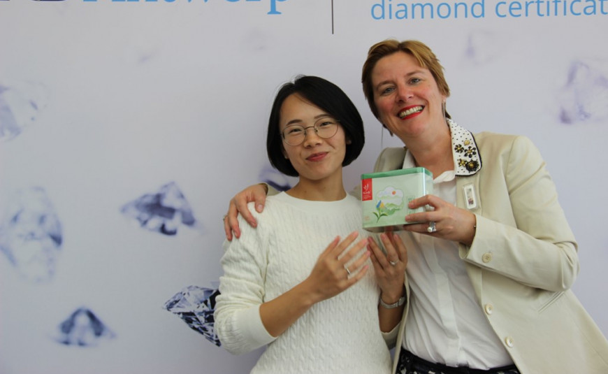 Guangzhou Diamond Exchange - Private Course - Introduction to Rough Diamond Sorting and Planning