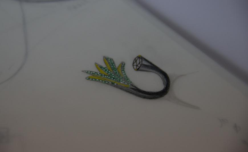 Contemporary Diamond Jewellery Design Antwerp Januari