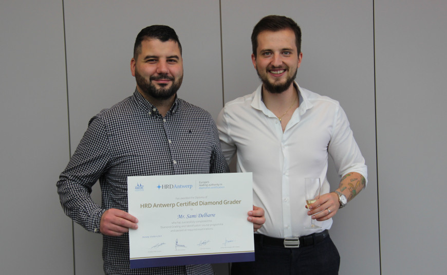 Certified Diamond Grader / French